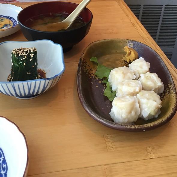 Shumai, Miso Soup, Ohitashi @ Toraya Restaurant