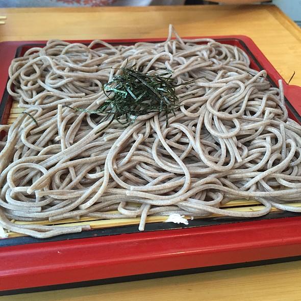 Zaru Soba @ Toraya Restaurant