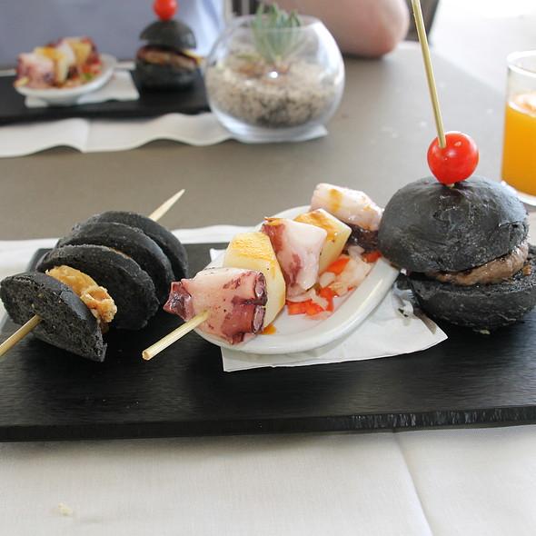 Calamares, Pulpo y Hamburguesa