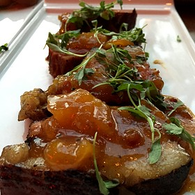 Pork Belly - MAX's Wine Dive San Antonio - East Basse Rd