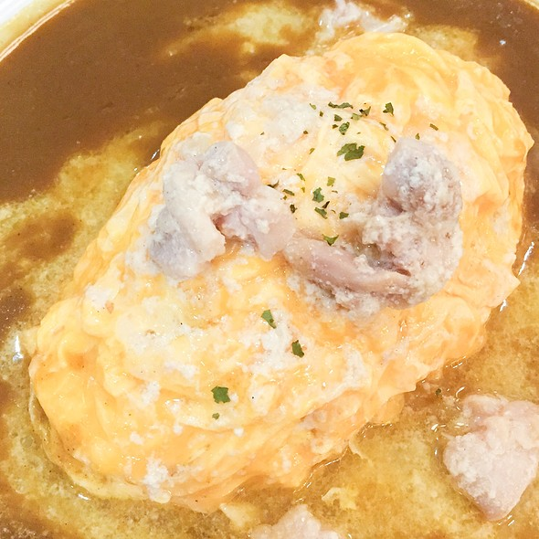 Creamed Chicken Omelette Curry @ Coco Ichibanya