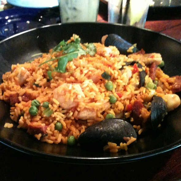 Paella @ Bahama Breeze