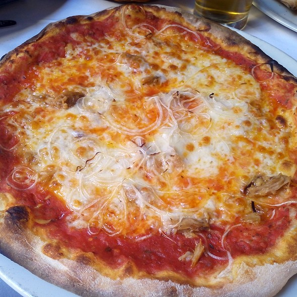 Tuna And Onion Pizza @ Malatesta