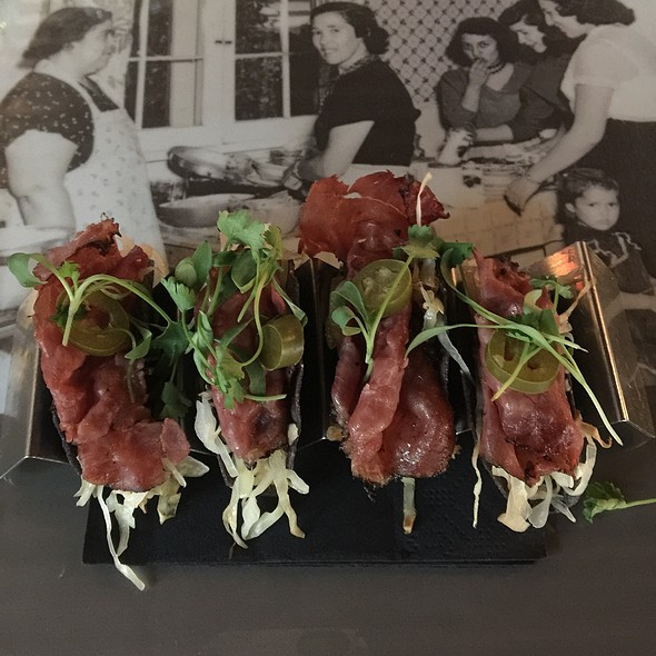 Pastrami Tacos @ Eloisa Restaurant