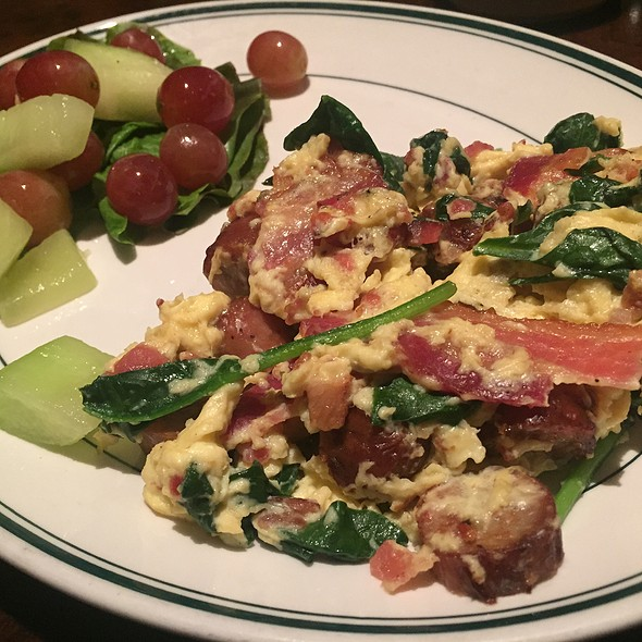 Protein Scramble With Fresh Fruit - Daily Grill - Seattle Sheraton, Seattle, WA