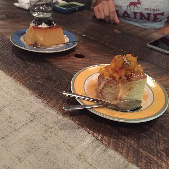Dulce De Leche And Tres Leches Cake @ La Brasa