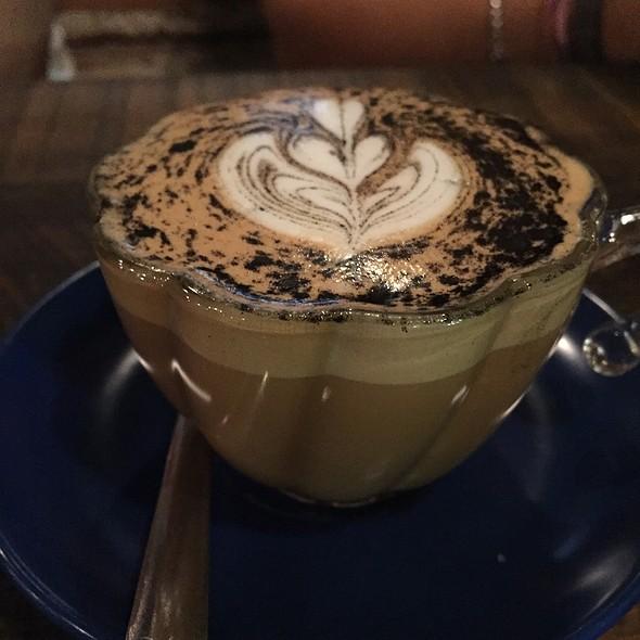 Burnt Caramel Cappuccino @ La Brasa