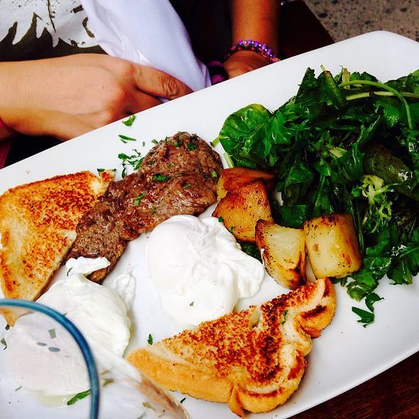 Steak N Eggs, Poached - Chelsea Ristorante, New York, NY