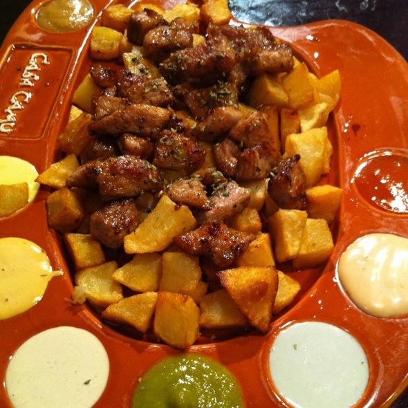Tabla De Carne @ Casa Camu Rodriguez San Pedro