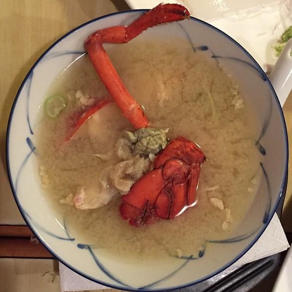 Lobster Miso Soup @ Yanagi Sushi