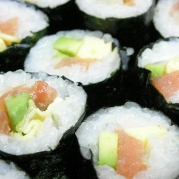 Sushi Platter @ Sushi Silk Ou