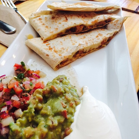Chicken Quesadilla @ New Spot