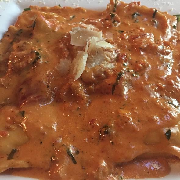 Lobster Ravioli - Michaelangelo's, Cleveland, OH