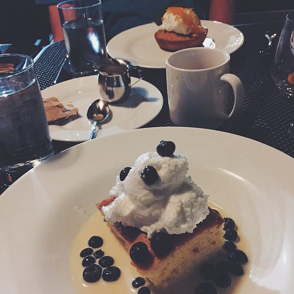 Tres Leches Cake + Brown Butter Cake @ The Franklin