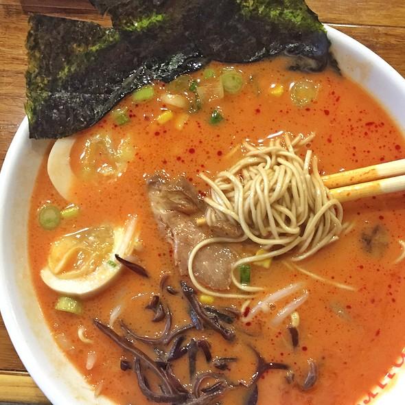 Spicy Miso Tonkatsu Ramen @ Samurai Noodle