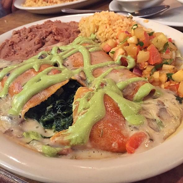 Enchiladas Popeye @ Lopez Mexican Restaurant