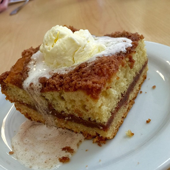 Coffee Cake @ Carolyn's Cafe