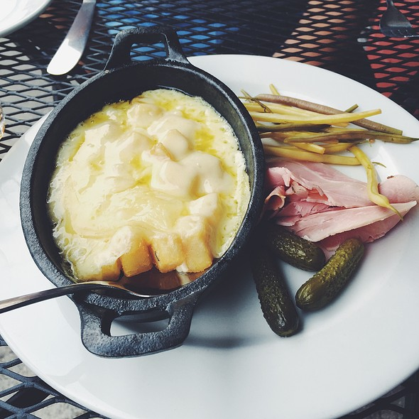 Raclette Cheese  @ 9 Bean Rows