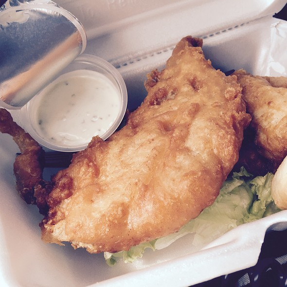 Fried Fish Sandwhich