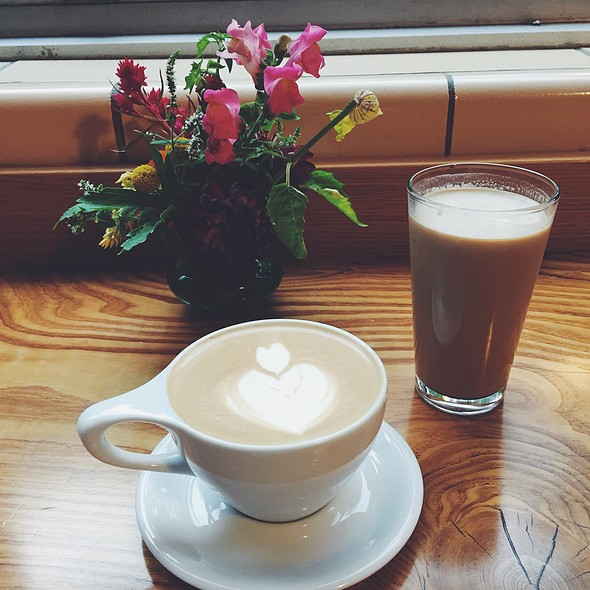 Lavender Lattes Iced And Hot @ Higher Grounds Trading Company