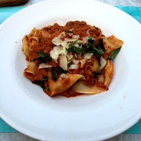 Parppardelle - The Blue Pig Tavern, Cape May, NJ