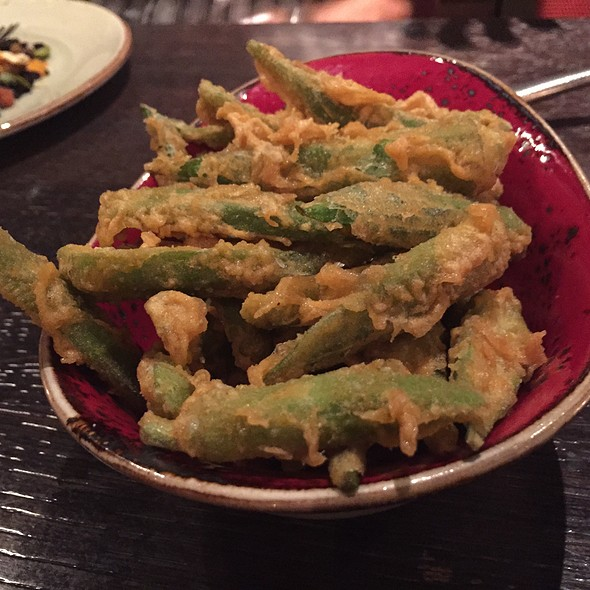 Okra chips @ The Cecil