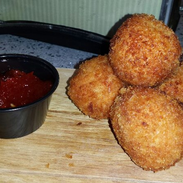Pimento Cheese Croquettes @ Tucker Duke's Lunchbox & Market