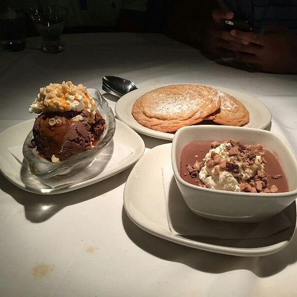Sundae, Cookies, & Nutella Pudding