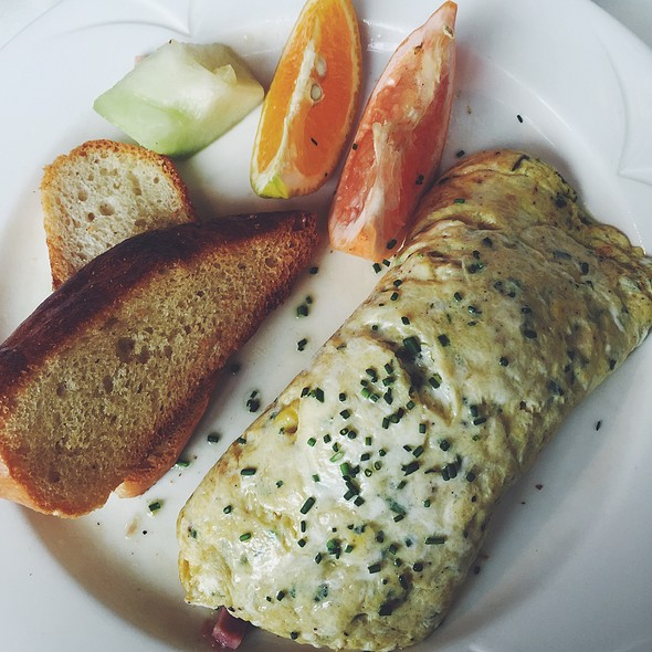French Omelet  @ Pâtisserie Amie
