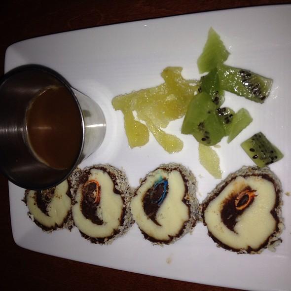 Chocolate Maki Roll - Steel Restaurant & Lounge - Dallas, Dallas, TX