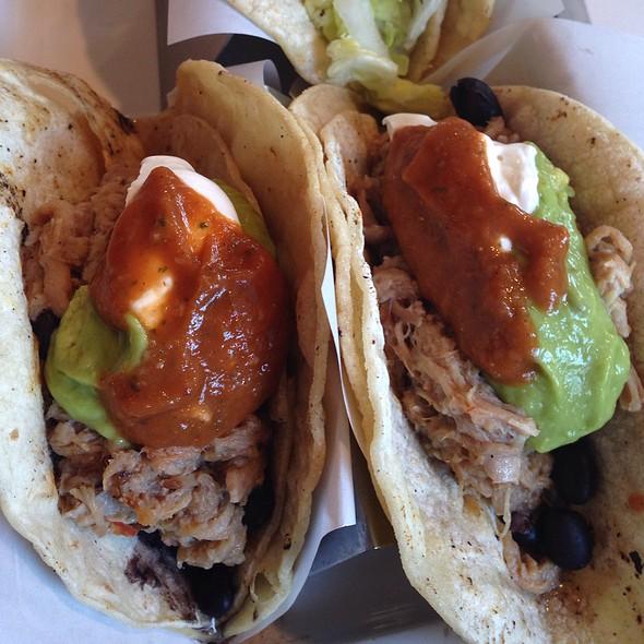 carnitas tacos @ Market and Rye