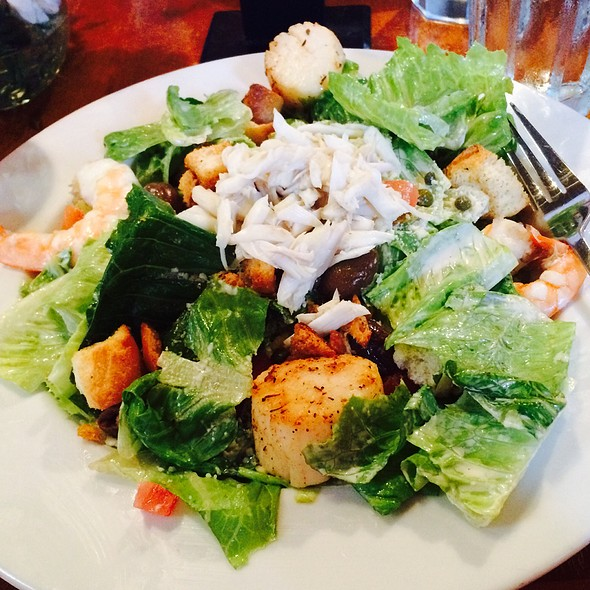 Seafood Caesar Salad, Lump Crab, Gulf Shrimp And Sea Scallops @ Middleton Tavern