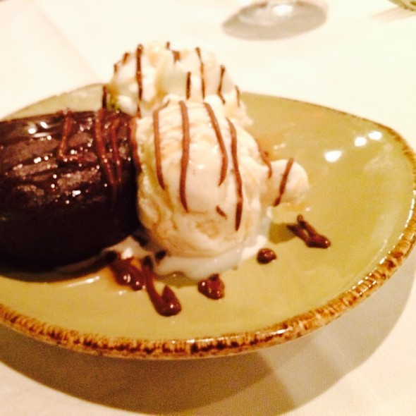 Chocolate torte - Severn Inn, Annapolis, MD