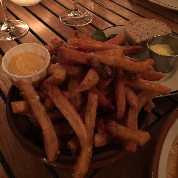 Hand Cut Fries With Parmesean
