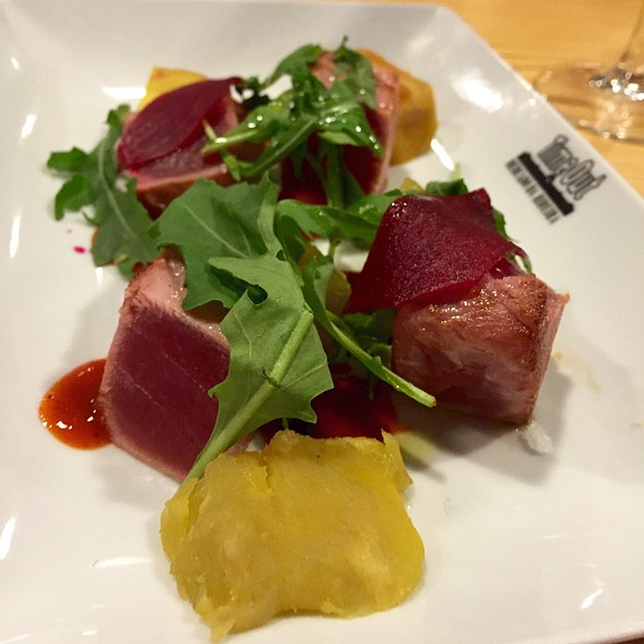 Tuna With Sweet Potato