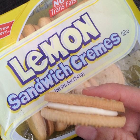 Lemon Sandwich Cremes Cookie @ Longs Drugs