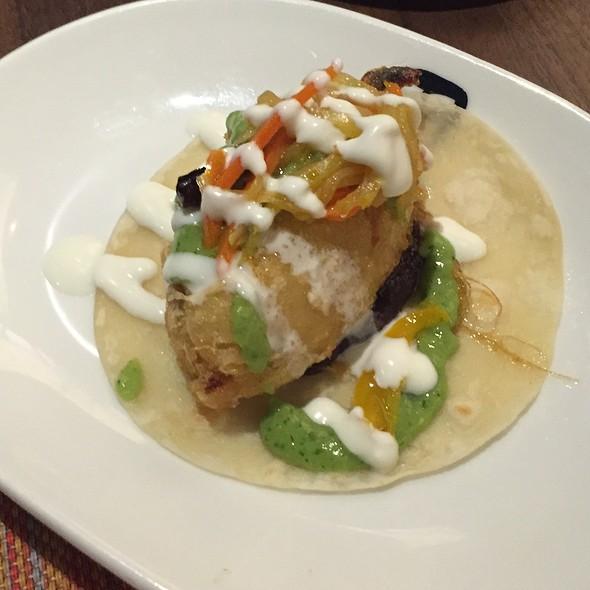 Shrimp Relleno Taco
