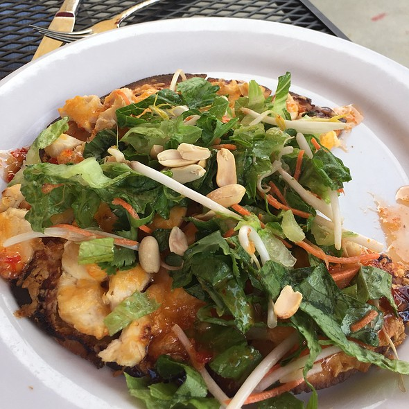 Thai Chicken Flatbread - Union An American Bistro, Castle Rock, CO