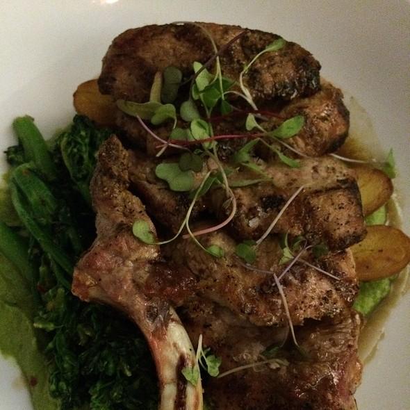 Pork Chops @ Osteria Da Nino