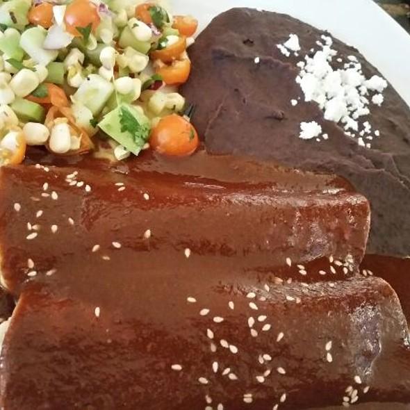 Enchiladas Con Mole Madre - Dona Tomas, Oakland, CA
