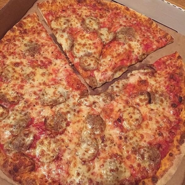 Sausage Pizza @ Pini's Pizzeria