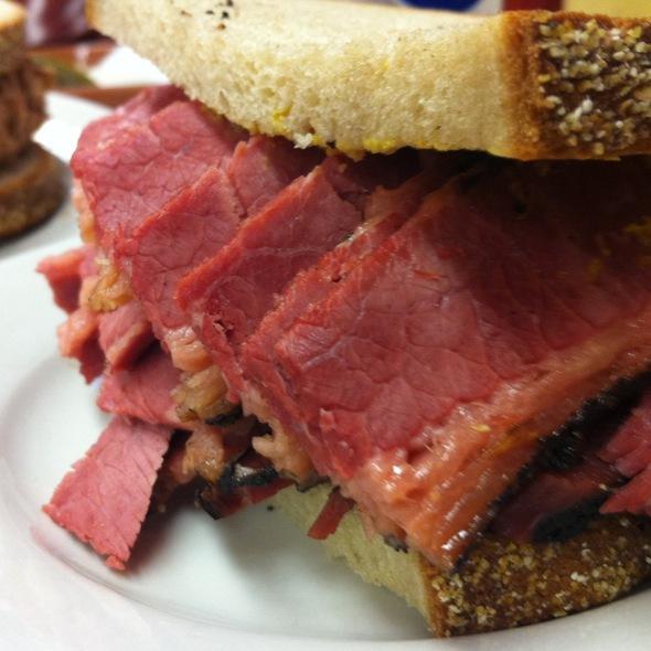 Pastrami on Rye with Brown Mustard @ Katz's Delicatessen Inc