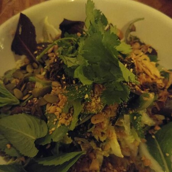 Jasmine Tea Leaf Salad @ Rooster and The Pig