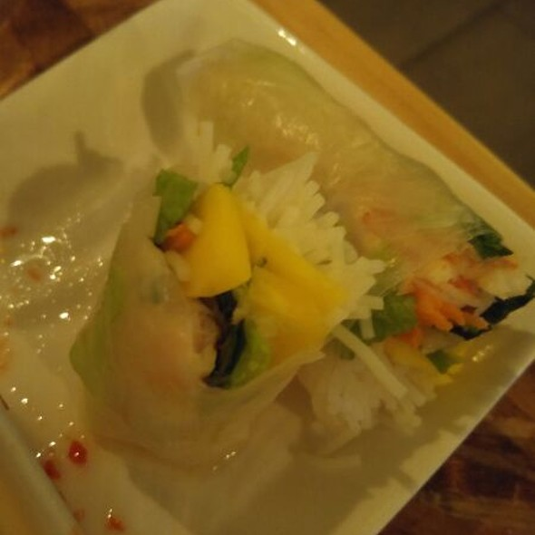 Crispy Fish Spring Roll @ Rooster and The Pig