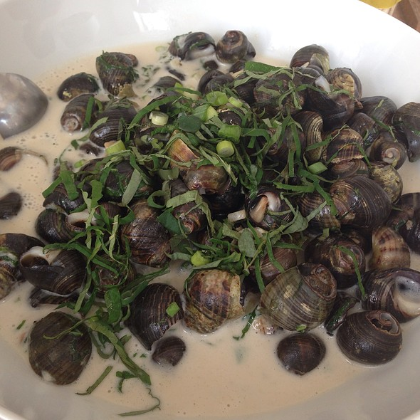 Sea Snails In Coconut Milk @ Linnner Place