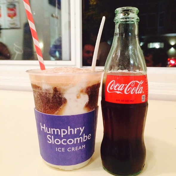 Bourbon And Coke Float @ Humphry Slocombe
