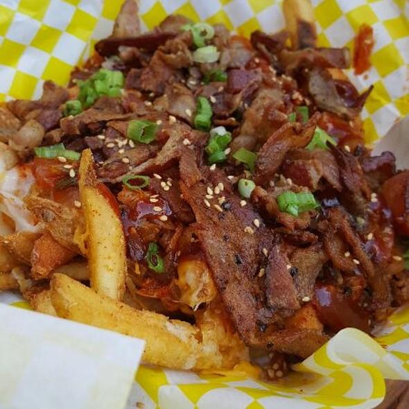 Kimchi Fries with Bacon @ Saigon Slims