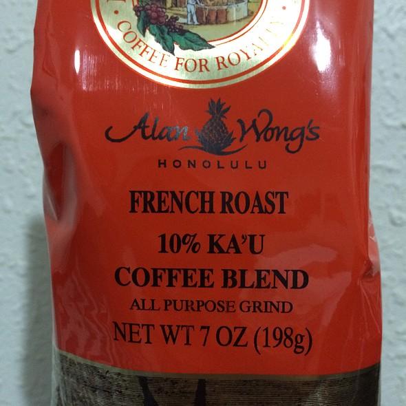 Alan Wong's French Roast 10% Ka'u Coffee @ Hawaii Coffee Company