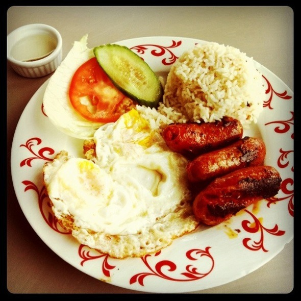 Longanisa @ Rumbar Plaza Cafe