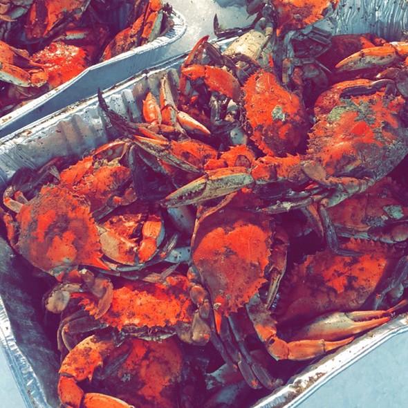 Old Bay Steamed Blue Crab